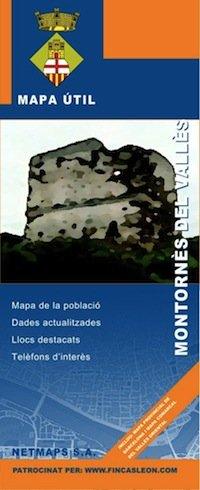 Mapa Montornès del Valles