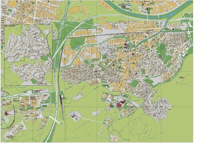 mapa Cerdanyola del Valles