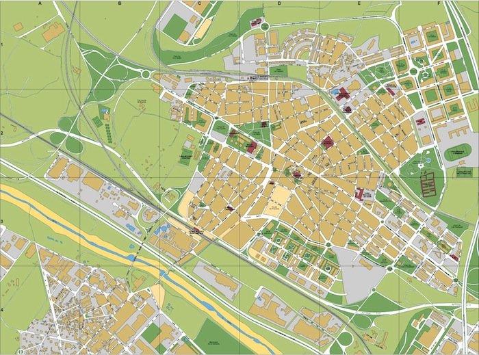 mapa Mollet del Valles