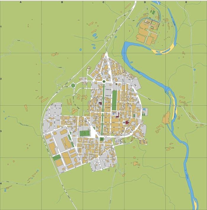 mapa Navas