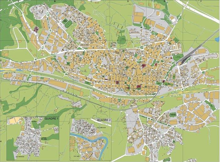 mapa Rubi