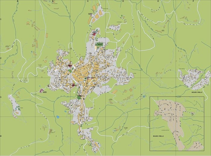 mapa Sant Feliu de Codines