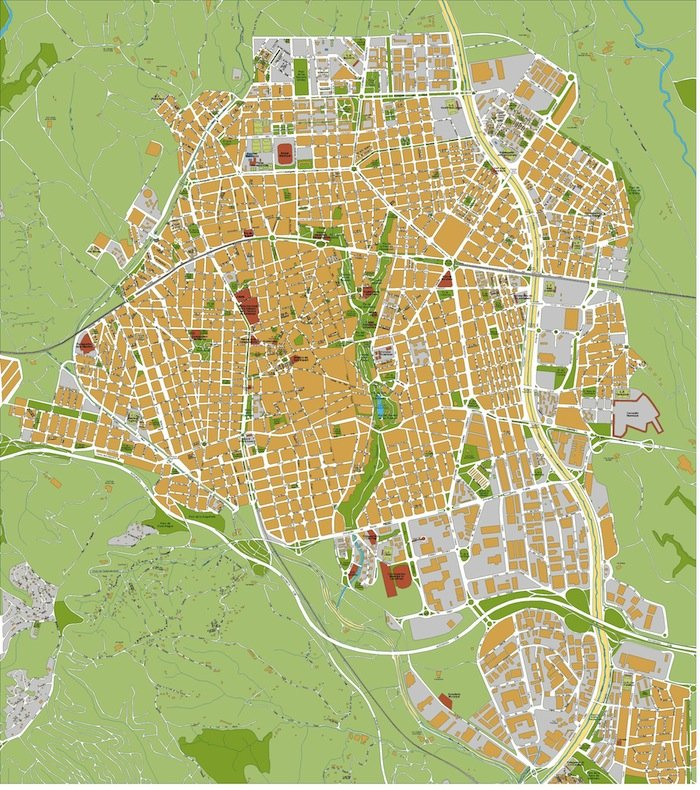 mapa Terrassa