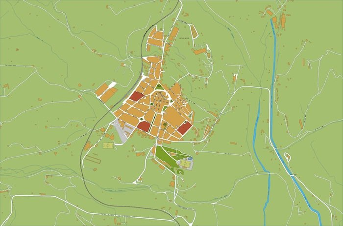 mapa Tremp