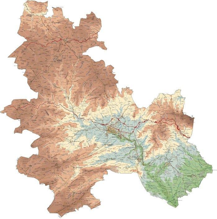 mapa anoia