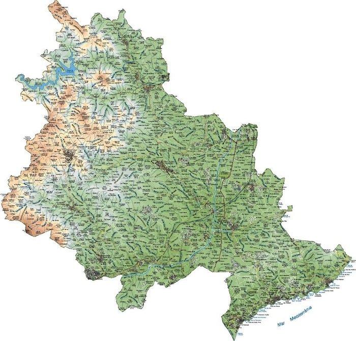 mapa la selva